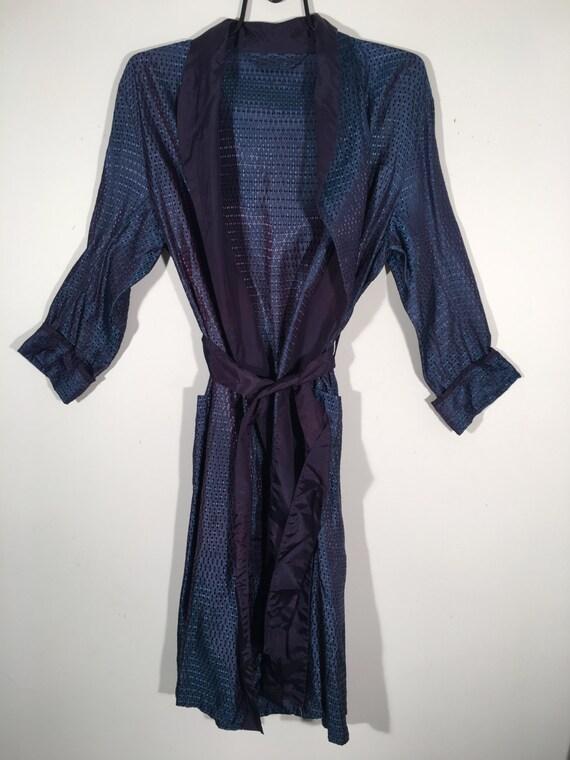 50's Satin Men's Robe