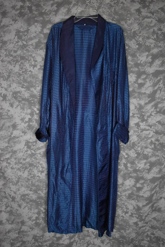 1950's Men's Robe/Dressing Gown (with Belt) - image 1