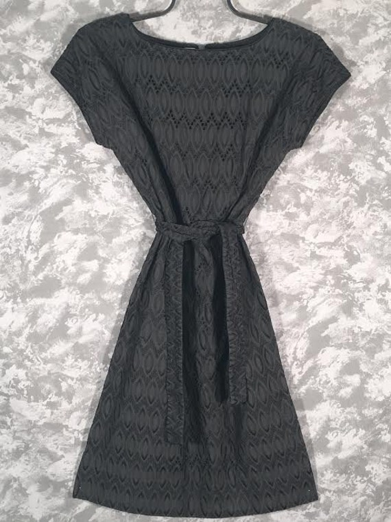 1950's Paul Sachs Original Eyelet Dress