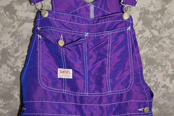 1960's Smith's Workwear Sanforized Shiny Purple Bi