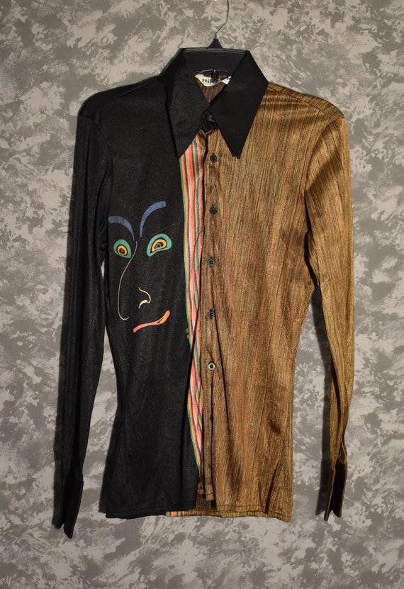 1970's Disco Shirt - Women's Blouse