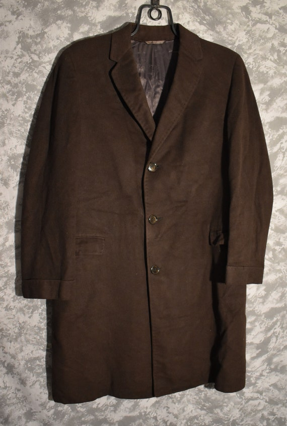 Brown 1950's Cashmere Coat