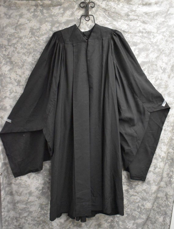 1930's or 1940's Graduation Gown/Black Robe (Extra