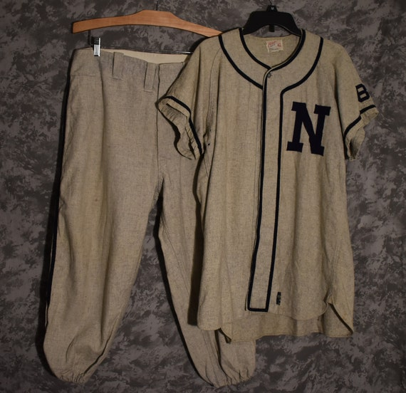 1940's or 1950's Baseball Uniform - Wolfe Furnitur
