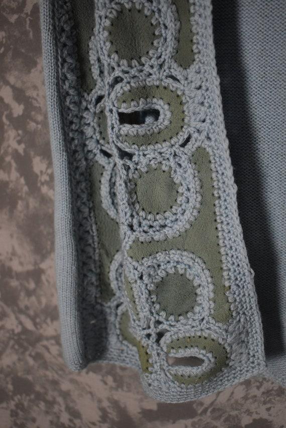 1960's Hippie Crochet Sweater Vest - Tarri Label - image 2