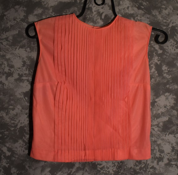 1950's Pleated Pink Top (Penny Potter)