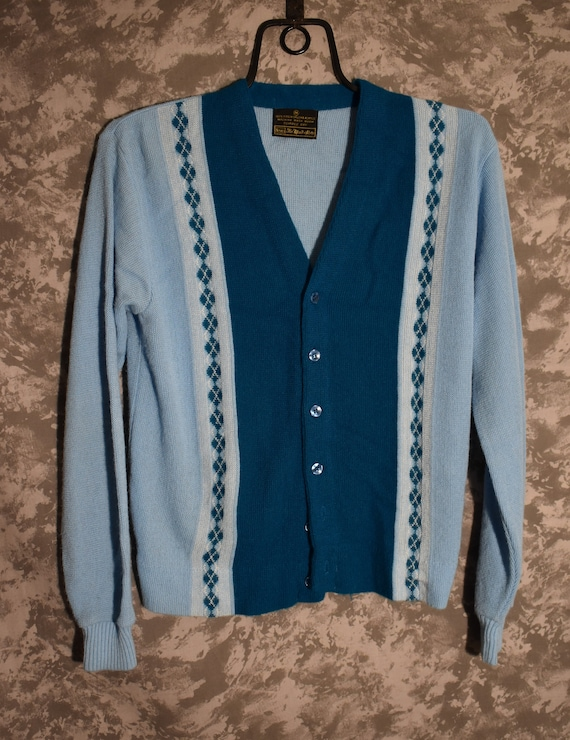 1960's Men's Cardigan Sweater (Sears)