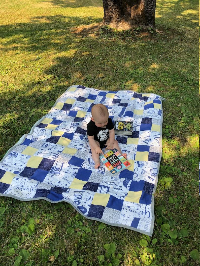 Custom Minky Baby Quilt