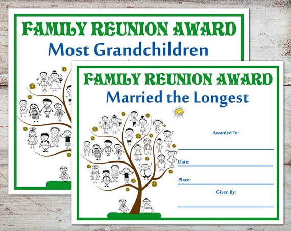 image regarding Free Printable Family Reunion Certificates referred to as Household Reunion Awards, Spouse and children Reunion Certificates, Family members Reunion, Relatives Functions, Household Awards, Certificates, Immediate Down load