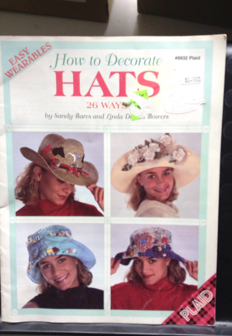 How To Decorate Hats Booklet 26 Ways Etsy