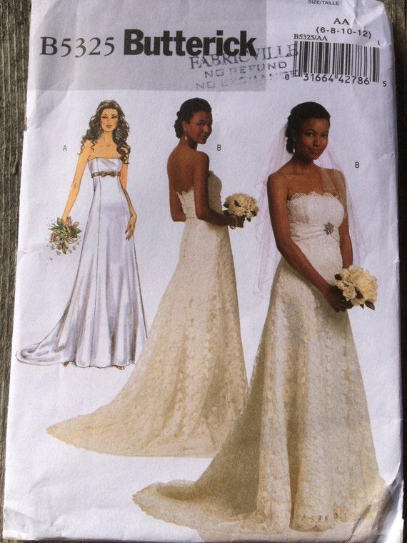 Bride And Bridesmaid Dress Sewing Pattern Etsy