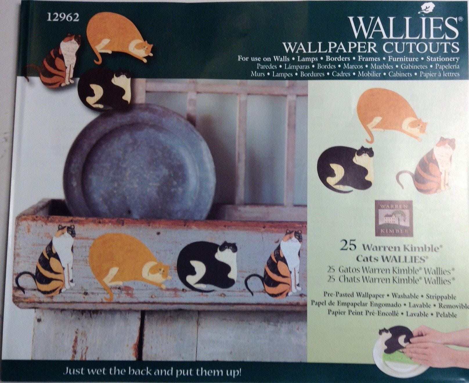 Wallies Cat Wallpaper Cutouts