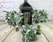 Wedding Bouquet, Bridal Bouquet, Succulent Bouquet, Artificial Bouquet, Silk Bouquet, Lavender Bouquet, Greenery Bouquet, Eucalyptus Bouquet