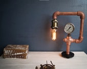 Resurgence CU29 Industrial Copper Lamp