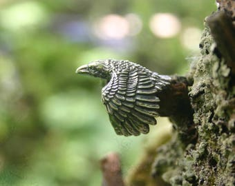 Corax Raven Ring - Silver