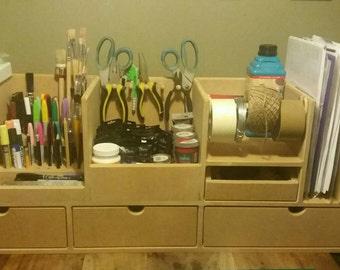 Craft storage ,painting storage, drawing storage, craft organiser,craft station,