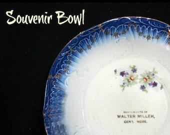 candle dish - souvenir Bowl - collectible Bowl - advertisement Bowl - promotional Bowl - ad Bowl -- Home decor Bowl -  # 47
