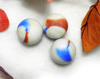 Large Marbles, Shooters, glass marble , Vintage Glass Marble - Agate marbles - marble lot -  game marbles - # 26