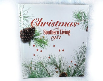 Christmas with Southern Living- Vintage 1981 -Craft Decorations -Cook Book -Vintage Holiday décor -How To Book -Holiday Recipes # 8 Holiday