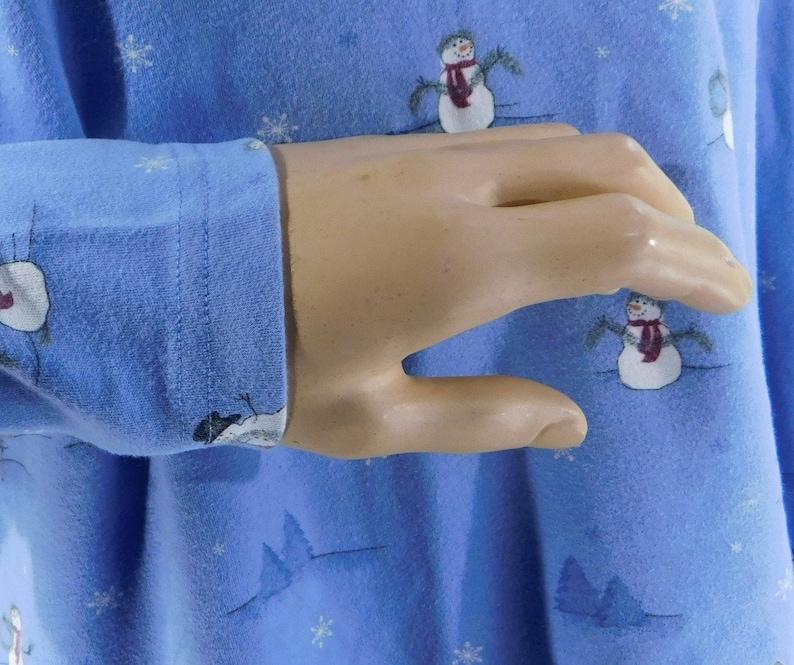 Christmas turtleneck Holiday clothing turtleneck,# 2 Blue Christmas clothing women,Snowman clothing shirt