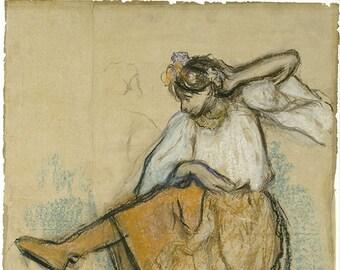 Sala Da Biliardo Degas : Stampe di degas etsy