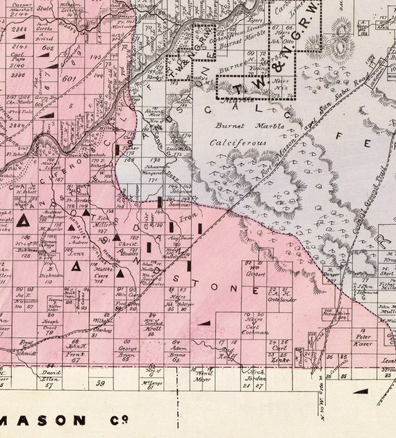 Map of San Saba County, Texas, TX ... 1876. Vintage restoration hardware Saba Road Map on jordan road map, india road map, russia road map, western hemisphere road map, vietnam road map, montserrat road map, brazil road map, nigeria road map, palau road map, st john usvi road map, nevis road map, rotterdam road map, saint croix road map, denmark road map, japan road map, french guiana road map, iran road map, taiwan road map, ascension island road map, trinidad and tobago road map,