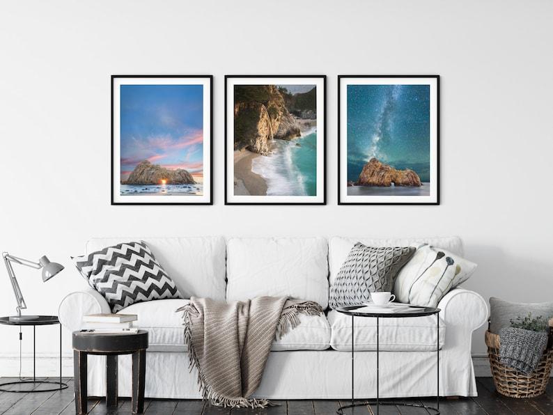 Pfeiffer Beach / Big Sur Photography / Starry Night Photo / image 0