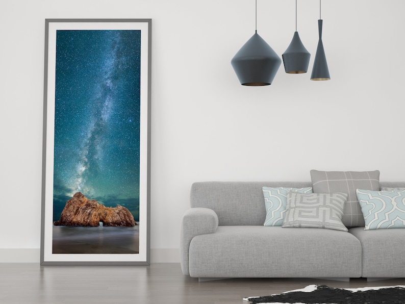 Pfeiffer Beach Print / Ocean Artwork / California Coast Art / image 0