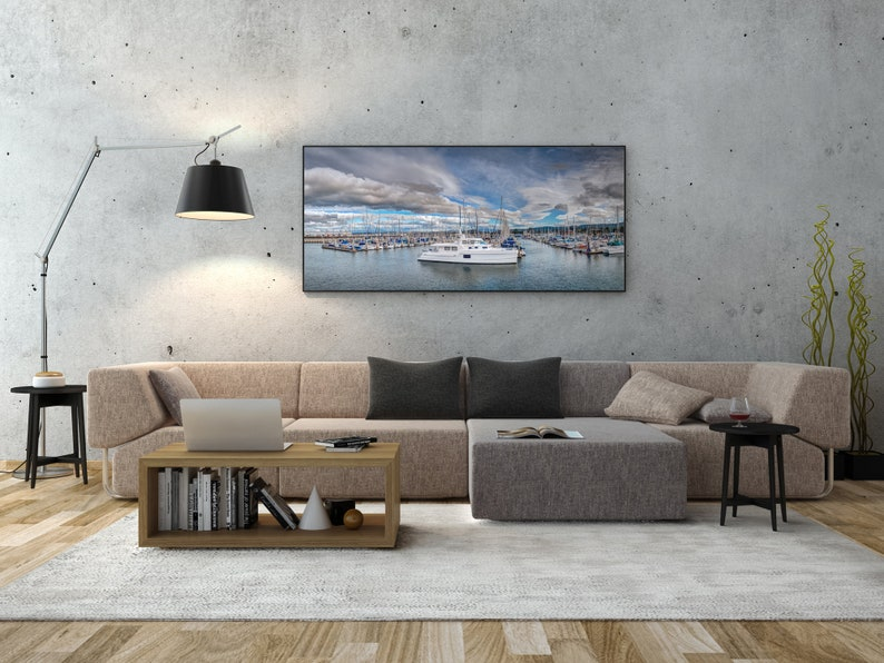 Monterey California / Sailboat Print / Inspiring Wall Art / image 0
