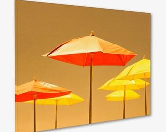 Umbrella Wall Art / Playful Artwork / Modern Nursery Photo / Visionary Art / Minimal Wall Art / Vibrant Wall Art / Photo Graphics