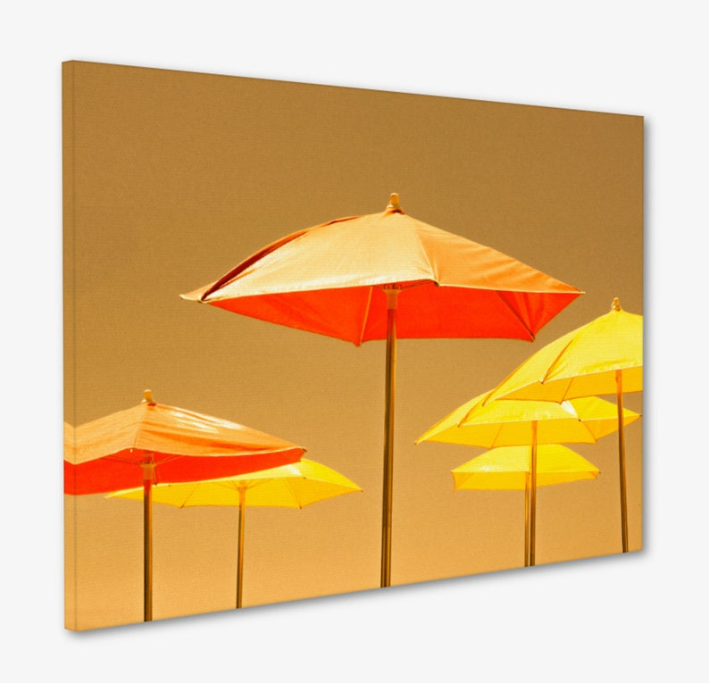 Umbrella Wall Art / Playful Artwork / Modern Nursery Photo / image 0