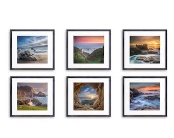 Big Sur Photography #2 / Seascape Prints / Cheap Kitchen Decor / Vibrant Wall Art / Ocean Artwork / Bixby Bridge Photo / California Coast