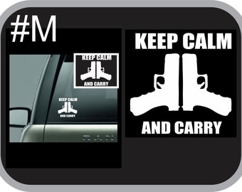 Keep Calm and Carry