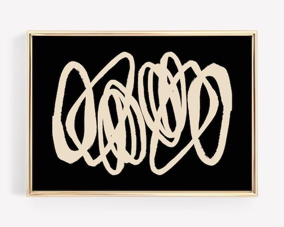 Shop Abstract art printable scandinavian wall art  boho wall from Etsy on Openhaus