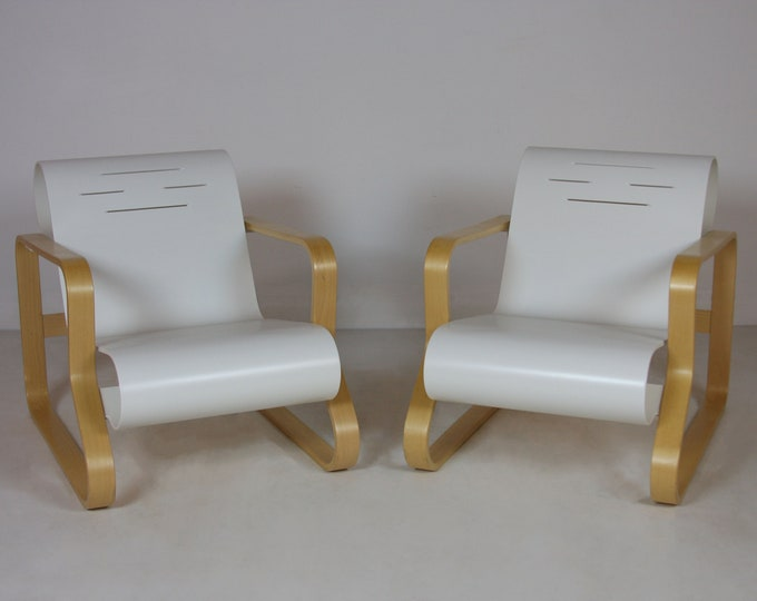 Mid Century Modern ALVAR AALTO Paimio SCROLL Chairs