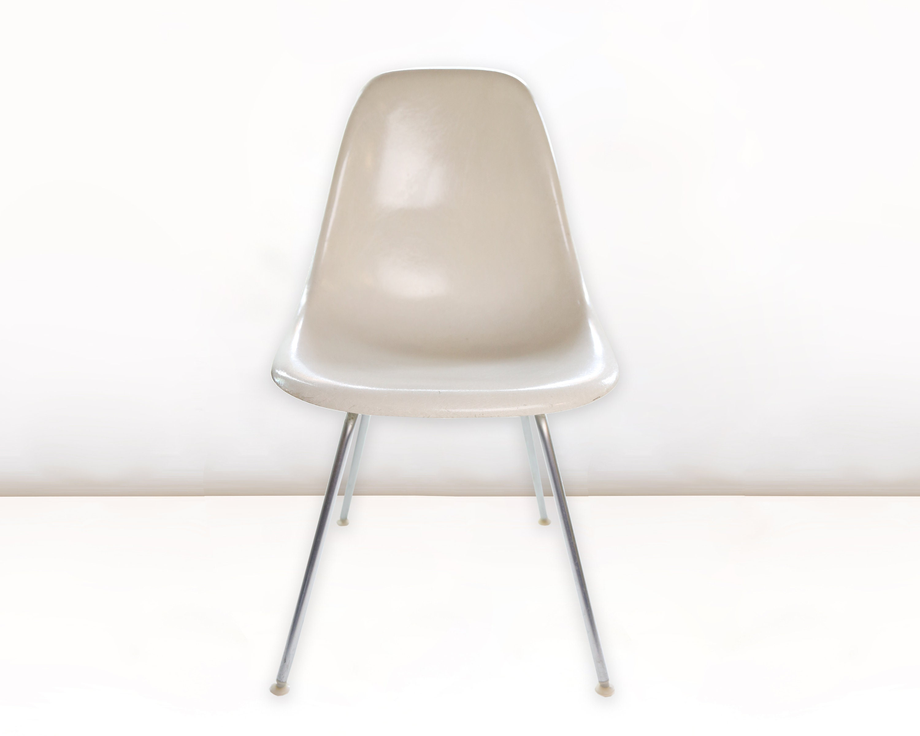 Herman Miller In Eames Side Chair Parchment nmv0wON8