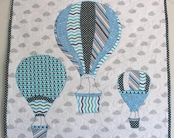 Hot Air Balloon Wall Hanging Pattern