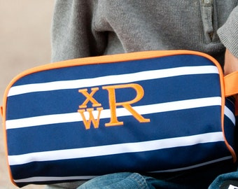 626dc0c14b4b Monogram Travel Bag Boys Toiletry Bag Travel Case For Boys