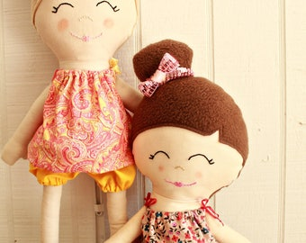 Doll Pattern, Ballerina Doll, PDF Sewing Patterns, PDF Pattern, Rag Doll, Instant Download, Stuffed Animal, Cloth Doll, Handmade Doll