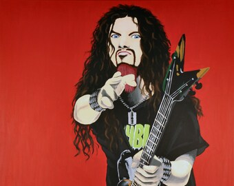 Dimebag Darrell, late great legendary guitarist for Pantera and Damage Plan, heavy metal but fun, RIP
