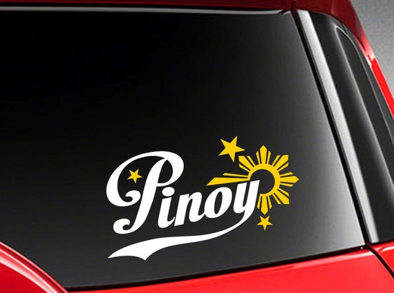 Pinoy philippines vinyl car decal sticker 7 5 width with