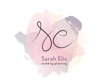 photography logo,boutique logo,branding package,small business branding,custom logo design,modern logo,blogger logo,watercolor logo