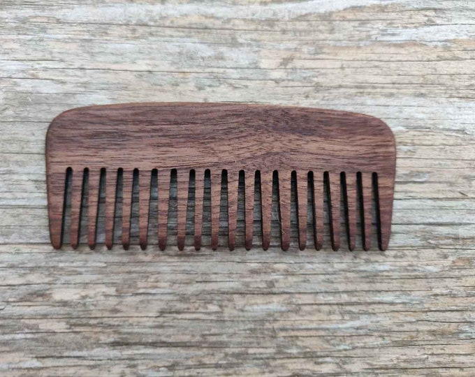 Wooden Comb | Large Custom Comb | Handmade Beard Comb | Personalized Pocket Comb |   Christmas gift