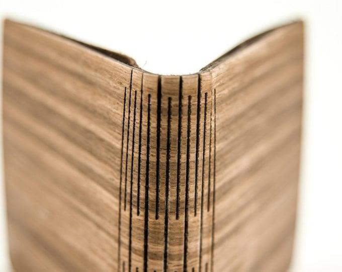 Men's Wooden wallet | Handmade men's wood wallet | Brown wallet | Black wallet | Unique wallet | Gift for him