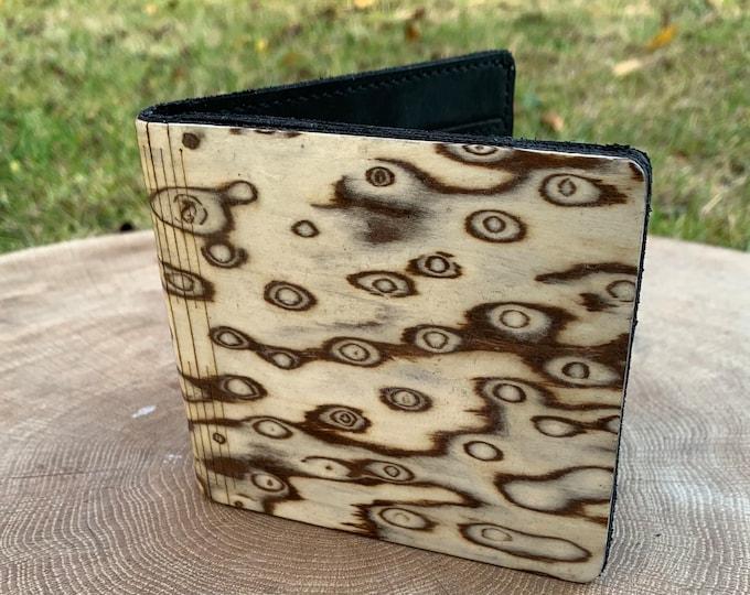 Karelia roots wallet | Men's wallet | Handmade wallet | Wooden wallet | Handmade men's wood wallet | Unique wallet | Gift for him