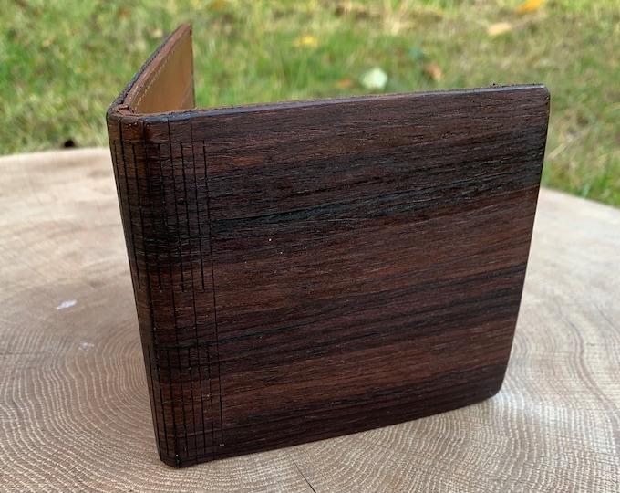 Palisander Indian wallet | Men's wallet | Handmade wallet | Wooden wallet | Handmade men's wood wallet | Unique wallet | Gift for him |