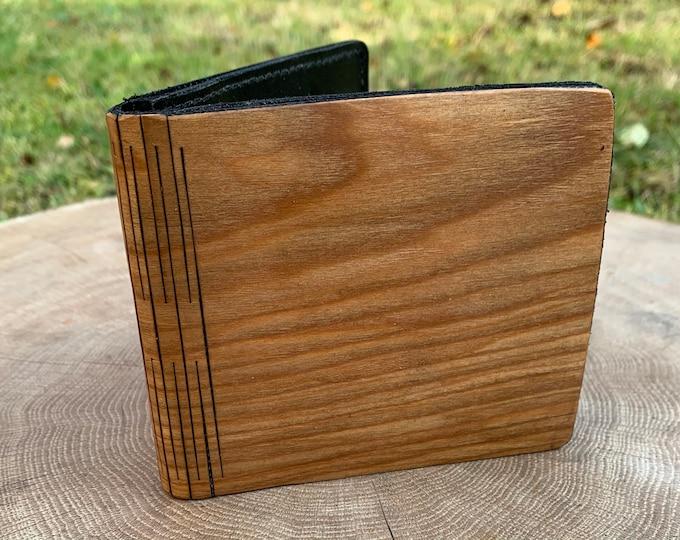Cherry Royal wallet | Men's wallet | Handmade wallet | Wooden wallet | Handmade men's wood wallet | Unique wallet | Gift for him |