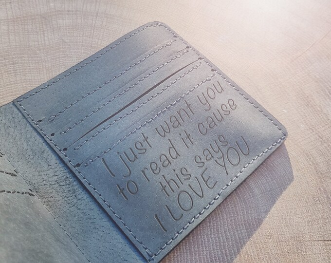 Men's wallet | Handmade wallet | Personalised Brown wallet | Black wallet | Christmas personalised gift | Gift for him