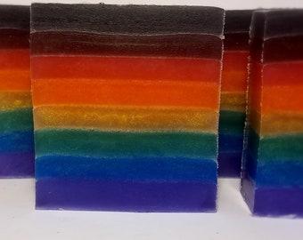 Rainbow Pride Soap