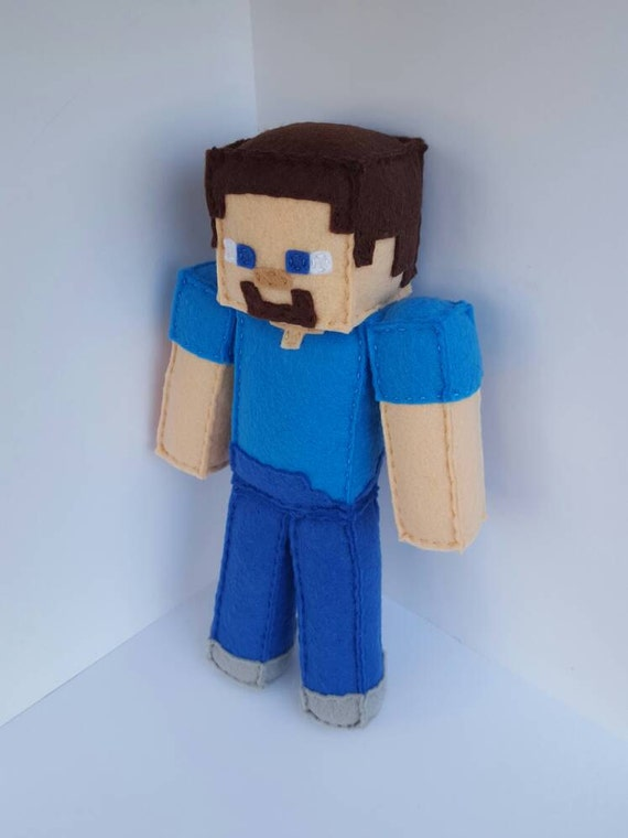 Minecraft Steve Plush Party Plusch